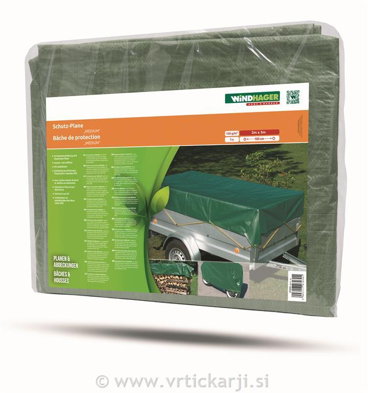 Image of Ponjava zaščitna, 2x3m, zelena,100 g/m2