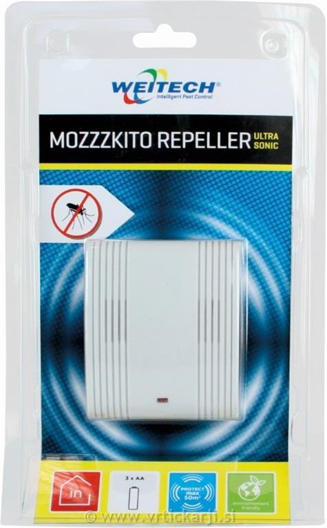 Image of Odganjalec komarjev, do 50 m2 MOZZZKITO, baterijsko napaj.